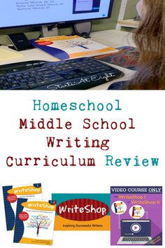 WriteShop's homeschool middle school writing curriculum is a comprehensive writing program that walk both student and parent through the writing process. Middle School Boys, Middle School Writing, High School, Homeschool Curriculum Reviews, Writing Curriculum, Homeschooling, Writing Prompts For Kids, Writing Process, Creative Writing