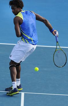 I love to have fun any where i can just like gael monfils Gael Monfils, Australian Open Tennis, Tennis Videos, French Man, Tennis Workout, Match Point, Tennis Championships, Sport Tennis, Dynamic Poses