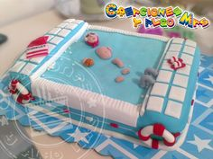 TORTA MOTIVO WATERPOLO