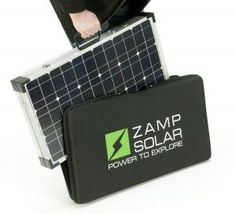 zamp 200 watt solar charging kit