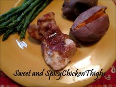 Sweet and Spicy Chicken Thigh Recipe