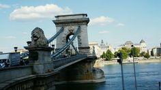 Chain bridge from Buda side