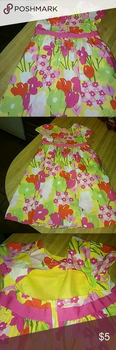 Summer Dress Girls sz 6 Gymboree Dress Girls Gymboree sz 6 never worn.  Pastel colors.  Open back too.  Cute Gymboree Dresses Backless