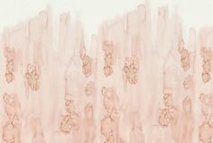 Unfinished In Rose  Organic, Synthetic, Wall Coverings  by Cuffhome