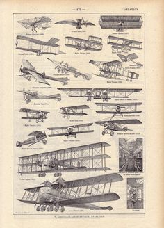 Old French planes.