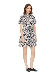 hollyhock stretch cotton dress - Kate Spade New York
