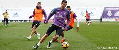 Ultimo entrenamiento y Rueda de Prensa de Zidane