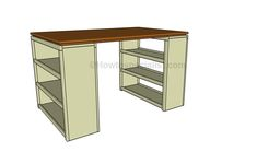 How to build a craft table   HowToSpecialist - How to Build, Step ...