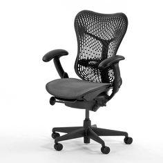 Herman Miller Desk Chairs Aeron #ergonomicofficechairs