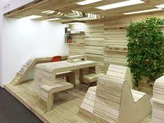 POP-UP Office Installation / Dubbeldam Architecture + Design,Courtesy of Dubbeldam Architecture + Design
