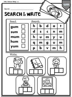 Phonics CVC I can read simple sentences short vowel
