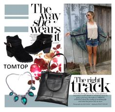 """TOMTOP*"" by mirelagrapkic ❤ liked on Polyvore featuring vintage and tomtop"
