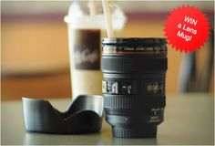 Camera Lens mug, must get one of these!