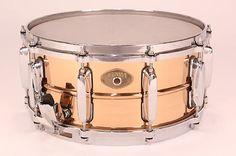 Tama 6.5x14 Bronze Power Metal Snare w/ Die Cast Hoops