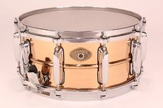 Tama 6.5x14 Bronze Power Metal Snare w/ Die Cast Hoops