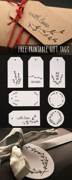Some sweet little hand illustrated gift tags, the perfect finishing touch to those Christmas presents you still haven't wrapped. Grab your free printable tags by signing up to my email newsletter here.