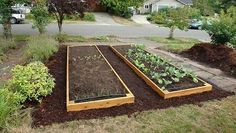 Here's an easy tutorial on how to construct your own raised garden bed in five easy steps.