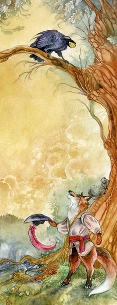 The Fox and the Crow -- Flattery Will Get You Everywhere. Stephanie Pui-Mun Law