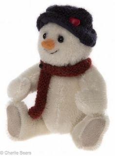Charlie Bears Shake Snowman Keyring / Tree Ornament