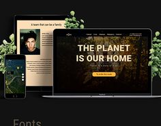 "Check out new work on my @Behance portfolio: ""Website ""THE PLANET IS OUR HOME"""" http://be.net/gallery/57175977/Website-THE-PLANET-IS-OUR-HOME"