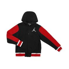 """premium selection c3766 abe34 Keep your little man bundled up this winter with The Jordan Varsity Hoodie  from Kids Foot Locker.    Mantén a tus chicos cubiertos este invierno con  la """" ..."""