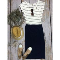 Spring Solid Colored Pencil Skirts | SexyModest Boutique #skirt #summer #comfybutcasual