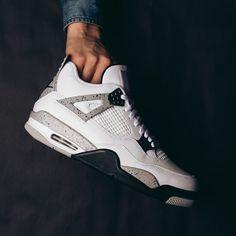 Air Jordan IV OG (White/Cement) Men - $220 BG - $160