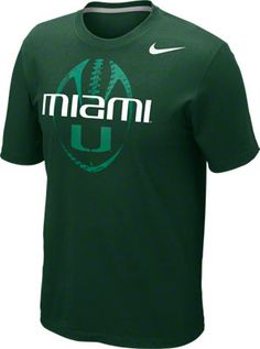 Nike Miami Football Shirt