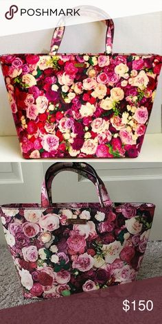 "Floral Kate Spade Purse Beautiful purse in perfect condition no flaws.        8.25''h x 12''w x 4''d Straps 4.5"" Drop kate spade Bags"