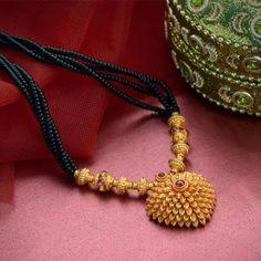 Gold Mangalsutra Design| Traditional Ornaments Designs