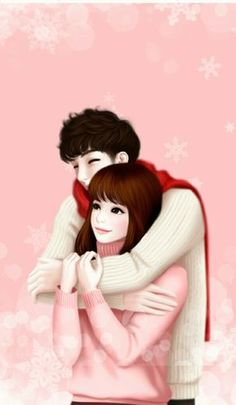 Find images and videos about girl, anime and lovely girl on We Heart It - the app to get lost in what you love. Love Cartoon Couple, Cute Cartoon Pictures, Cute Cartoon Girl, Cute Love Cartoons, Anime Love Couple, Cute Anime Couples, Cute Girl Hd Wallpaper, Cute Love Wallpapers, Cute Cartoon Wallpapers