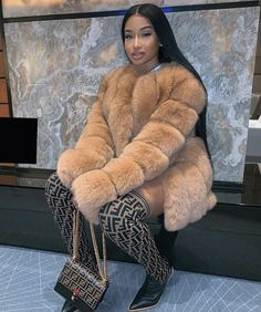 Fur Fashion, Fashion Killa, Look Fashion, Winter Fashion, Fashion Outfits, Womens Fashion, Fashion Trends, Fashion Inspiration, Luxury Fashion
