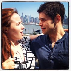 Jeremy Jordan and Sierra Boggess. Two of my favorites.