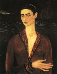 Frida Kahlo...Self Portrait, 1926