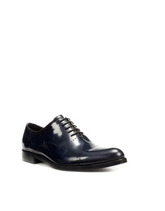 Hard to come by = navy shoes.