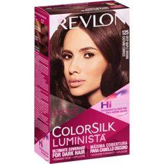Revlon Colorsilk Luminista 125 Deep Maple Brown Permanent Color
