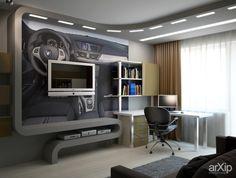 Дизайн интерьера детской: интерьер, зd визуализация, квартира, дом, современный, модернизм, детская комната, 10 - 20 м2, интерьер #interiordesign #3dvisualization #apartment #house #modern #nursery #10_20m2 #interior arXip.com