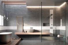 Modula for Glass Idromassaggio on Behance Bathroom Inspiration, Design Inspiration, Contemporary Bathroom Designs, Small Bathroom, Bathrooms, Decoration, Building Design, Your Design, Furniture Design