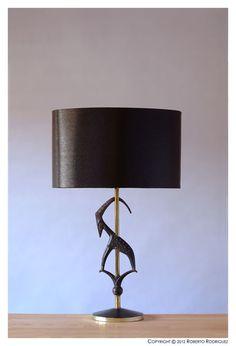 Rembrandt Lamp Co - gazelle lamp | Lighting | Pinterest
