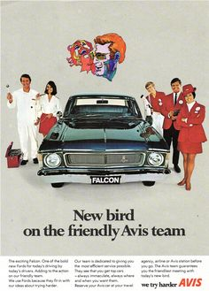 Ford Falcon from Avis