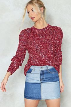 Mixed Emotions Multicolored Sweater