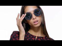 9b6eaaeea837 Fendi Fall 2017 Run Away Sunglasses Collection Film