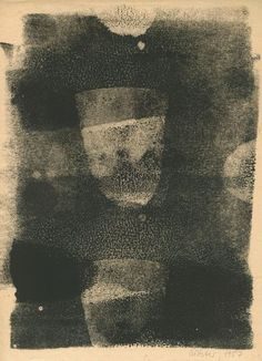 Gerhard Richter 1957 31 monotypes Linocut ink on paper 29.5 x 21 cm (each) The original sheets numbered 18/19 to 30/31 are printed on both sides.