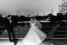 Wedding Dress: JLM Couture, Inc - http://www.stylemepretty.com/portfolio/jlm-couture Photography: Emilia Jane Photography - http://www.stylemepretty.com/portfolio/emilia-jane-photography   Read More on SMP: http://www.stylemepretty.com/2015/10/21/classic-elegant-pink-chicago-wedding/