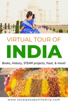 India with Kids: Virtual Visit & Global Learning Guide: Homeschooling India | Local Passport Family