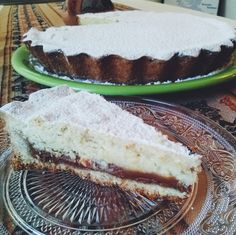 Pie de ricota y dulce de leche  #cake #pie #sweet #dulcedeleche #ricota #homemade #enjoy #break