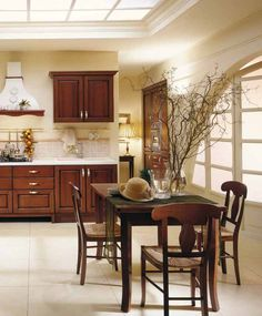 Warm and inviting, Golea is traditional, but not without functionality - hidden inside is an advanced and up-to-date kitchen...