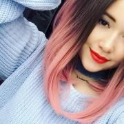 Pink Lace Front Wigs,Pink ombre hair synthetic http://wigs-Everydaywigs.com  #PinkLaceFrontWigs #PinkWigs