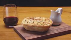 Best Ever Beef, Pepperberry and Red Wine Pie- substitute beef for soy protein for veg option