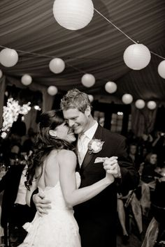 style me pretty - real wedding - usa - arizona - phoenix wedding - bride & groom - first dance